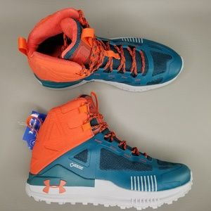 Under Armour Verge 2.0 Gore-Tex Mid Boots 9.5 Teal